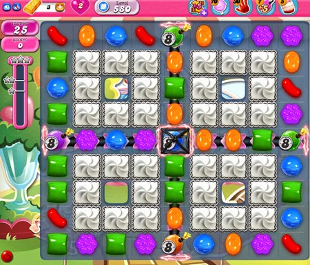 Candy Crush Saga 580