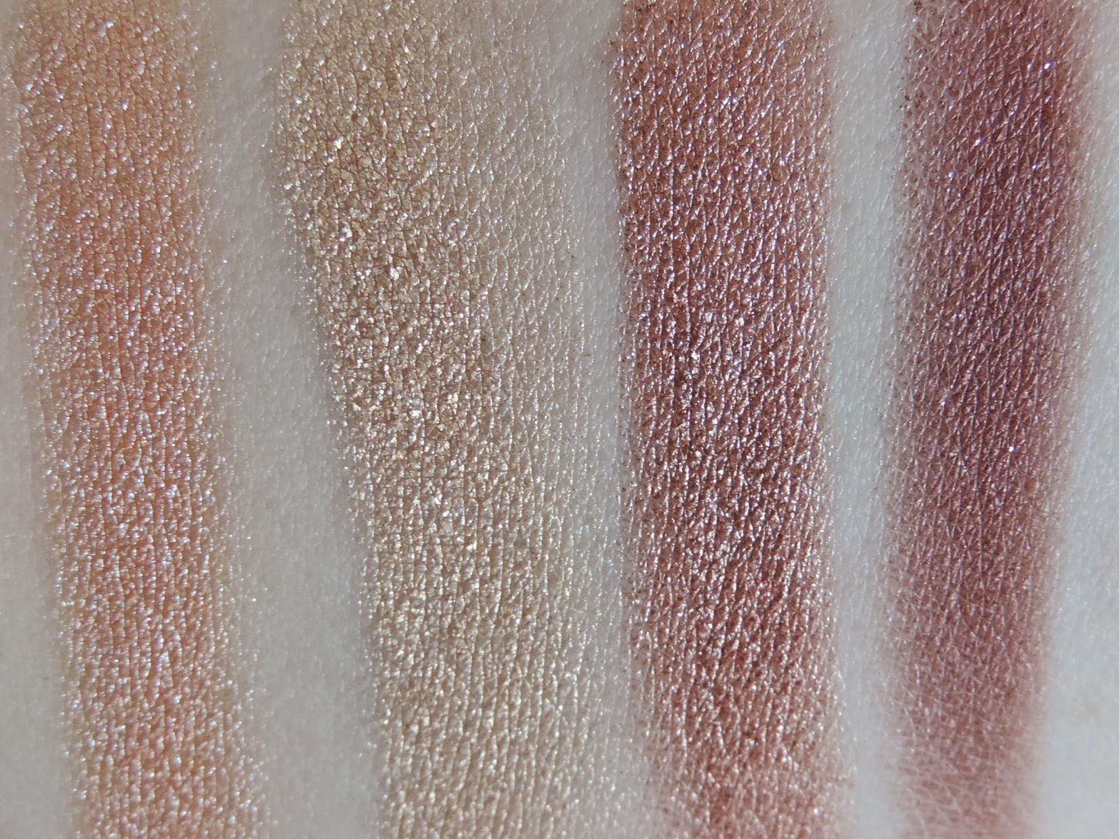 Single Swipe Swatches (from left): In The Spot Light, Magic Act, Grandstand, Showtime
