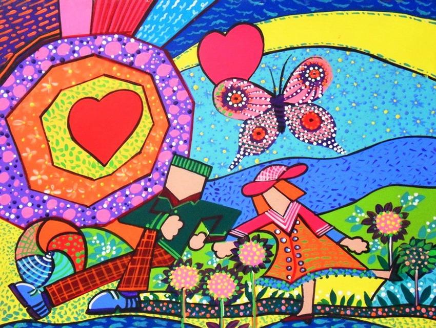 Cuadros pinturas oleos cuadros modernos decoraciones for Decoraciones infantiles para ninos