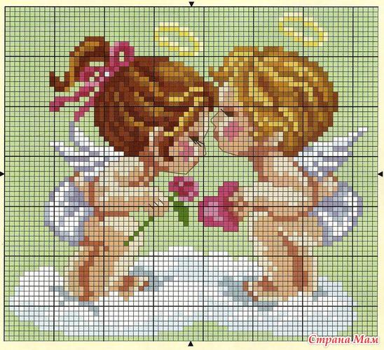 Схема вышивки с днем ангела