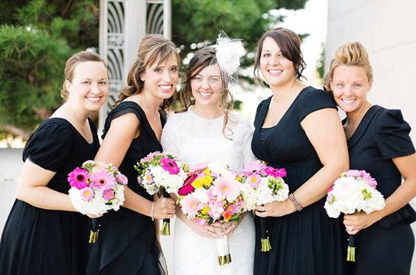 distinctive black wear again bridesmaid dresses