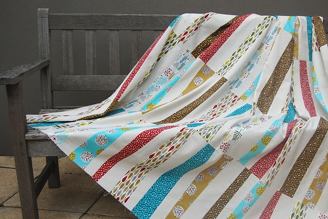 Chasing Cottons: Stack and Slash Tutorial with Kate... : stack and slash quilt - Adamdwight.com