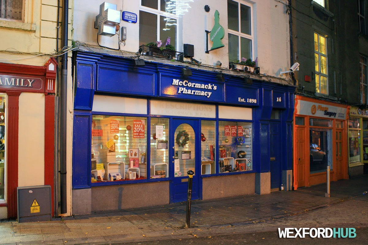 McCormack's Pharmacy, Wexford