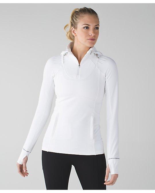 lululemon white rain-on-train-on-pullover