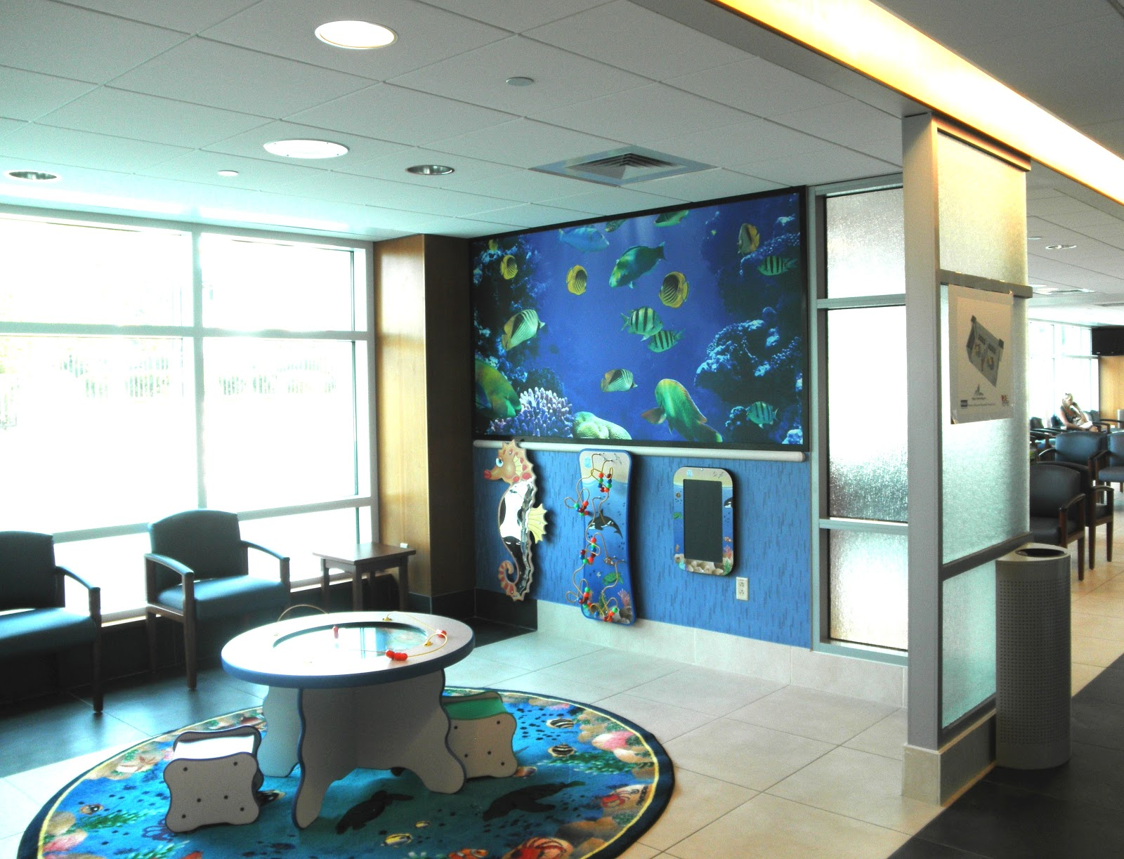 W2A Design Group News: Pediatric Emergency Department Waiting Area ...