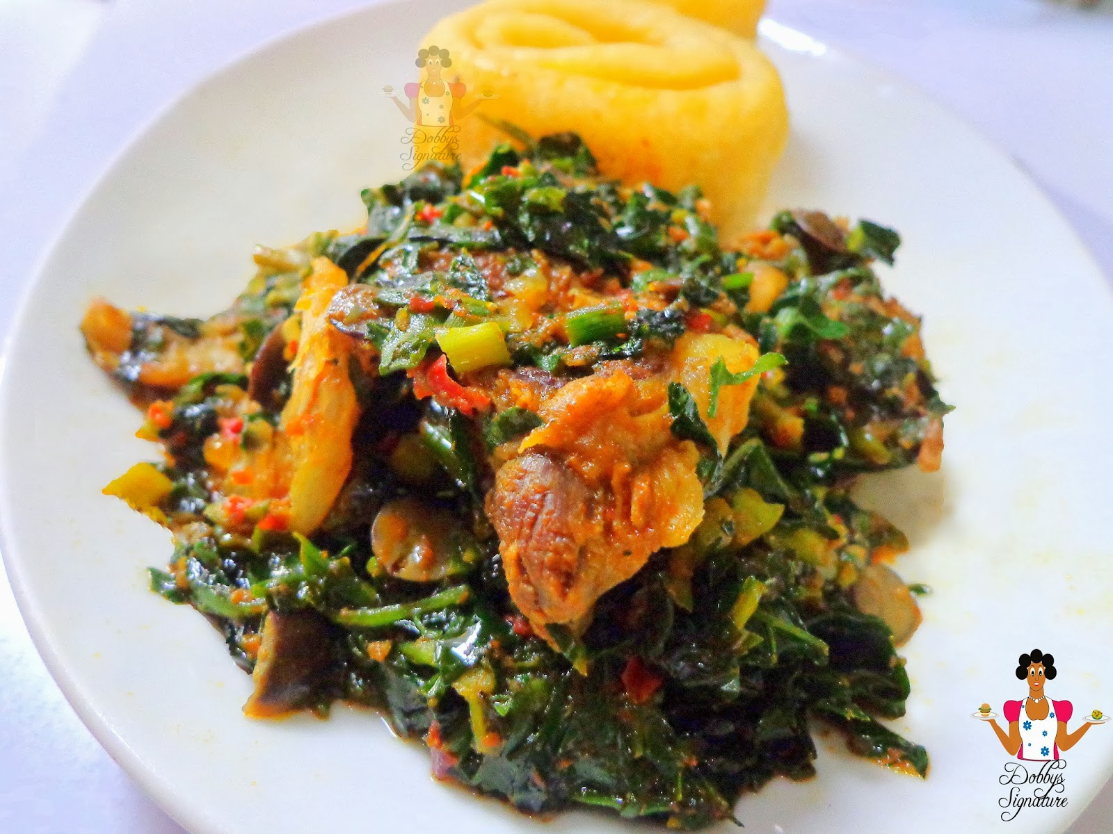 Dobbys signature nigerian food blog i nigerian food recipes i vegetable soup efo riro recipe forumfinder Choice Image