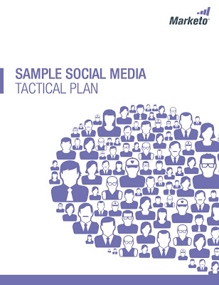 Image of social media plan cover page