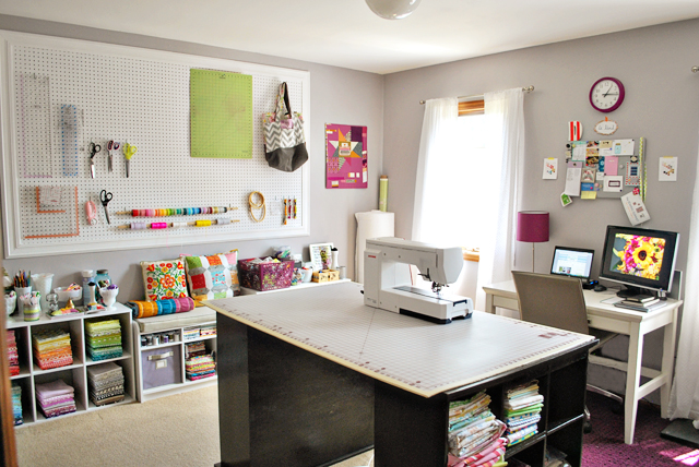 Sewing Room Design Ideas home sewing studio Bijou Lovely Sewing Room Tour