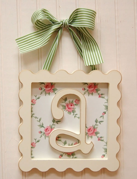 In style party favors easy diy nursery wall decor Wall letters decor