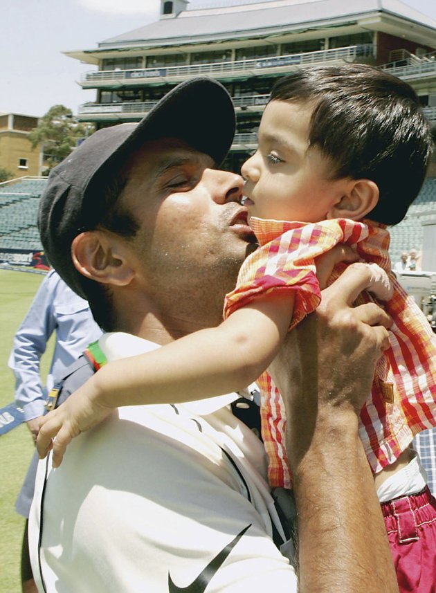 Rahul Dravid with his son SamitVirender Sehwag House Interior