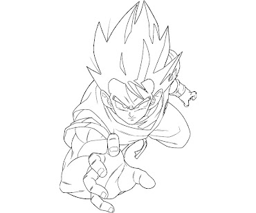 #5 Dragon Ball Coloring Page