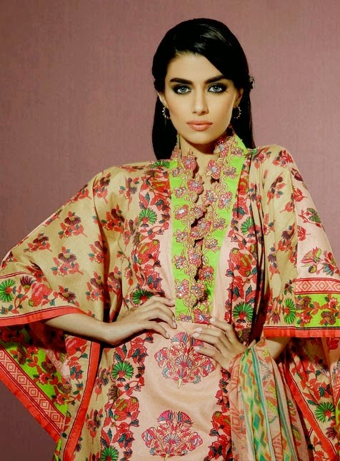 Alkaram Eid Dress Collection 2014
