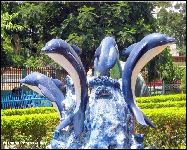Pir Ali Khan Park Penguin Sculptures