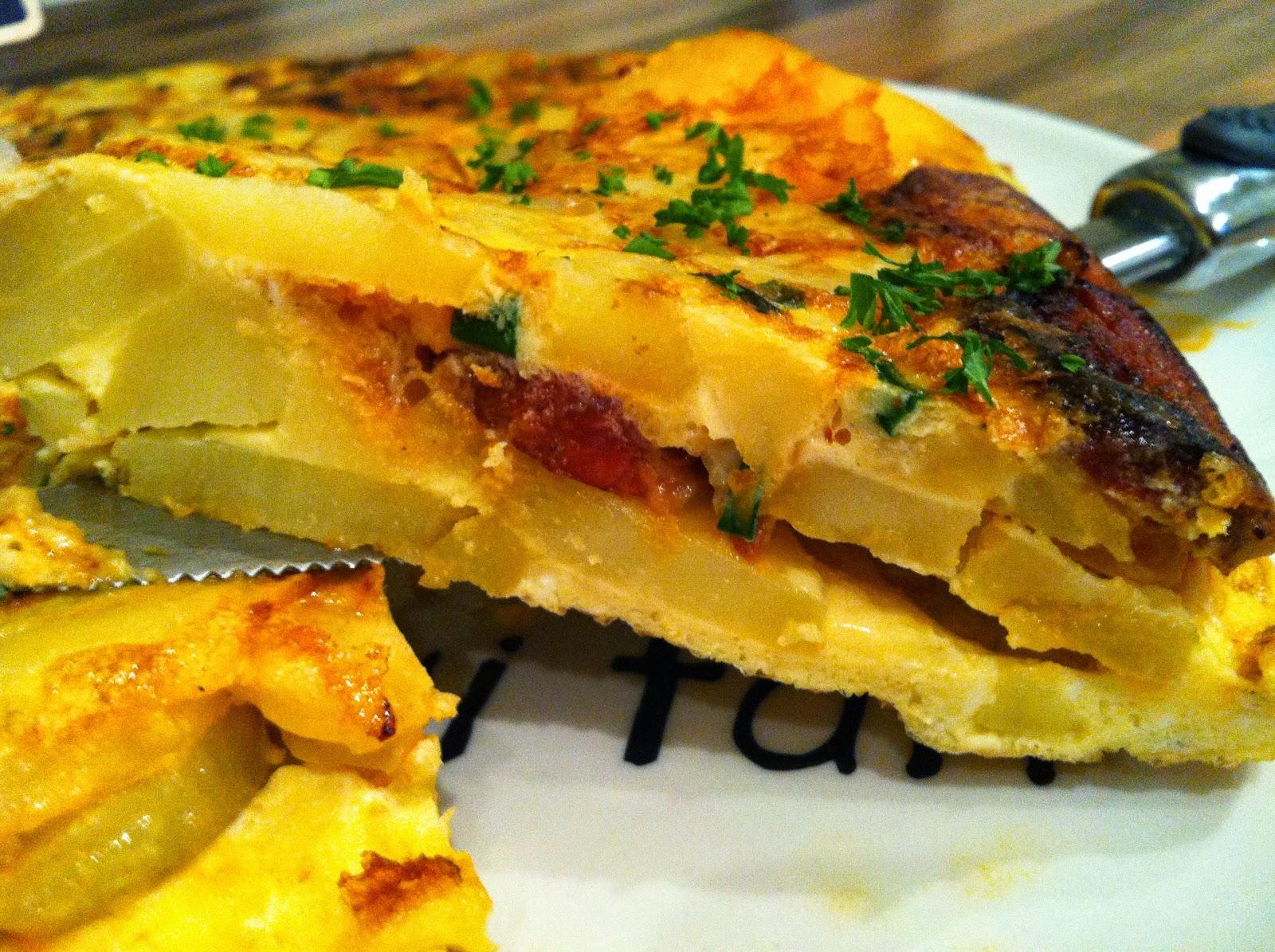 "alt=""tortilla au chorizo"""