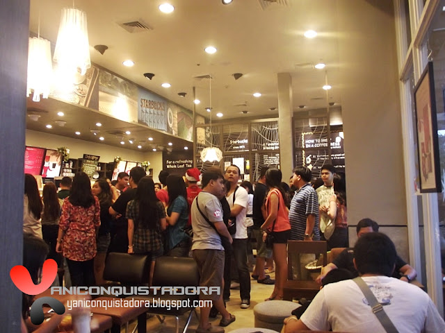Starbucks Christmas 2012 Kick Off Party in Bonifacio Global City