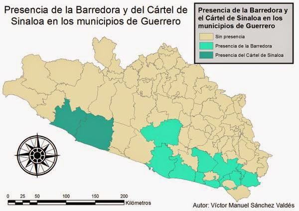 Borderland Beat Cartel Maps Cartel Territories of Mexico and