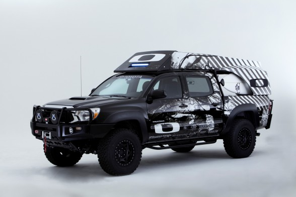 Inspired By Using Coarse 44 Toyota Tacoma Pickup V6 Engine And Equipped  With TRD Supercharger That Produces 304 Horsepower, The Truck Was Adapted  To Become ...