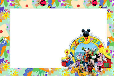 Do Mickey Mouse Da Disney   Kit Completo   Molduras Para Convites