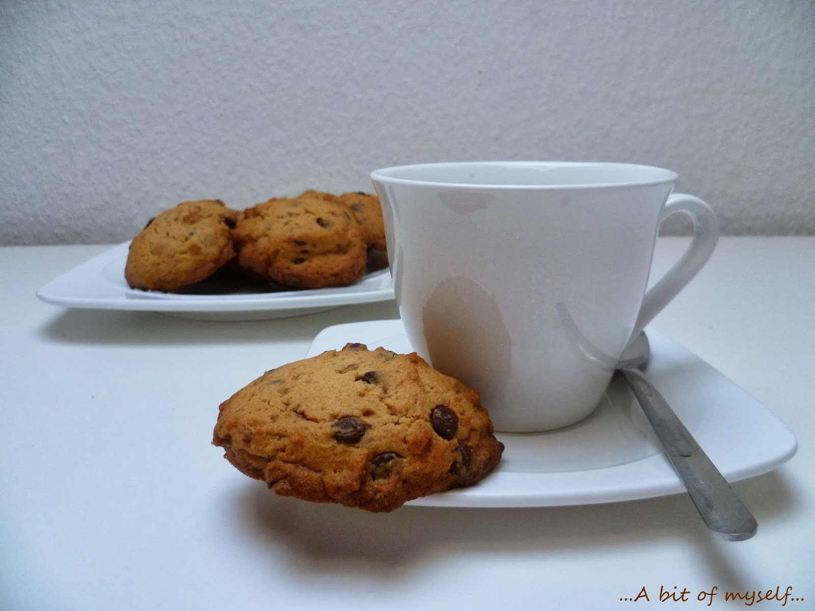chocolate chip cookies by luca montersino - and my late wishes for a happy 2014