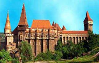 Istana Drakula, Transylvania (Rumania)