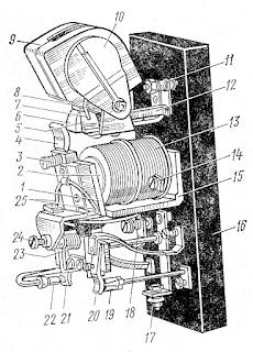 Контактор постоянного тока типа КПМ-220