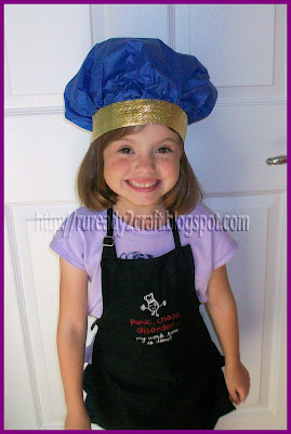 chef baker hat dress up costume