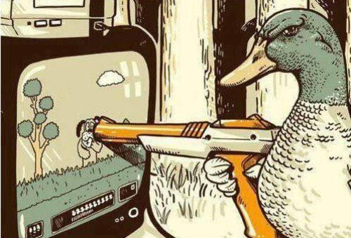 La venganza del pato videojuego humor