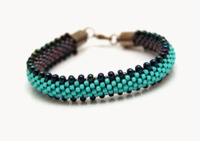 bransoletka koralikowa bead crochet bracelet inati zare 12