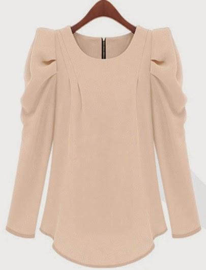 http://www.sheinside.com/Apricot-Puff-Sleeve-Zipper-Slim-Blouse-p-190408-cat-1733.html?aff_id=1285