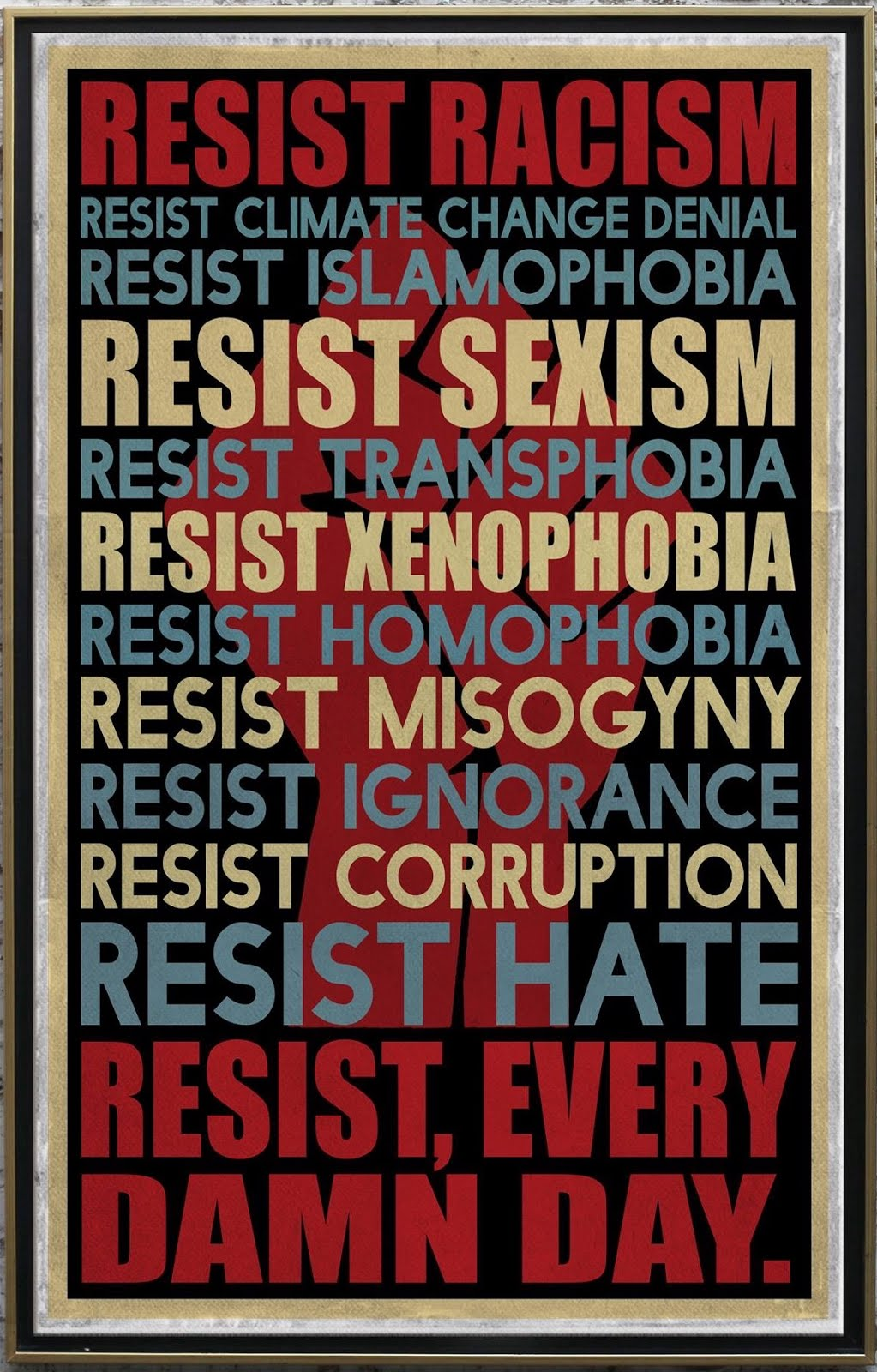 Be Active and Resist