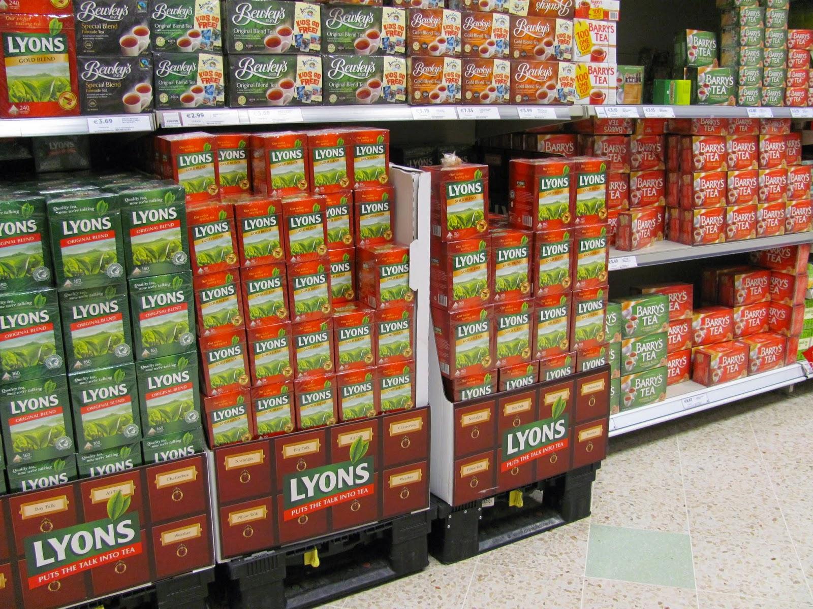 Lyon's and Barry's Tea