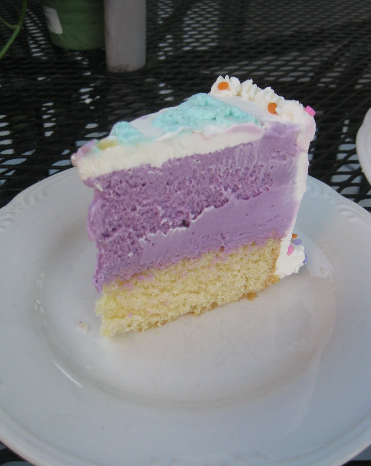 Baking Outside the Box: Homemade Ice Cream Cake