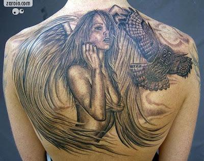 Tatuagens nas Costas grande