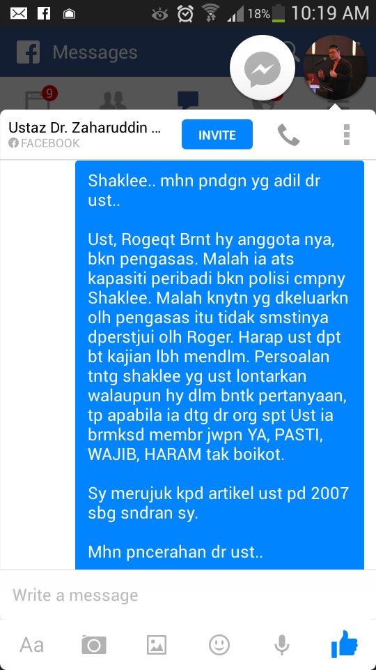 Benarkah Shaklee ada kaitan dengan israel?