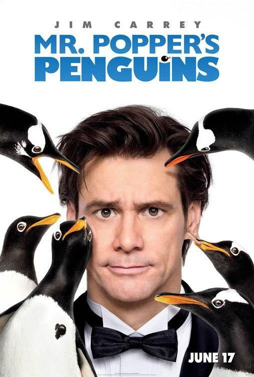 ver Los pingüinos del Sr. Poper online y trailer pelicula gratis