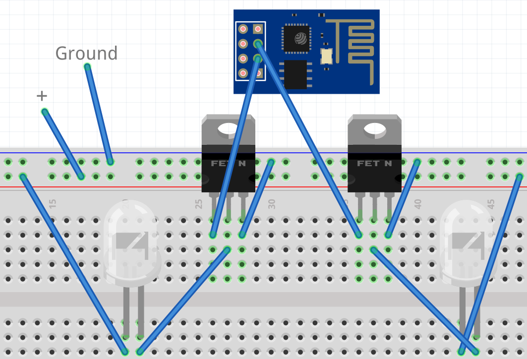 intermittent technology  esp8266 wifi led dimmer part 2 of