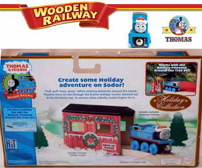 Thomas & Friends Wooden Railway Holiday Tunnel Set Exclusive Christmas Toy Thomas the Train gift