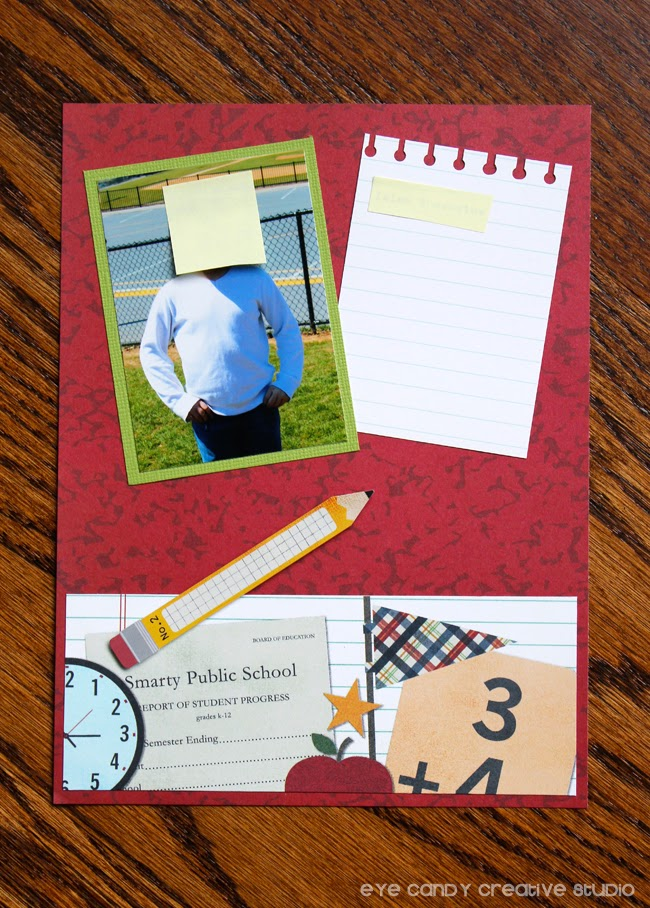 scrapbook pages, school photos, student pictures, gift ideas for teachers