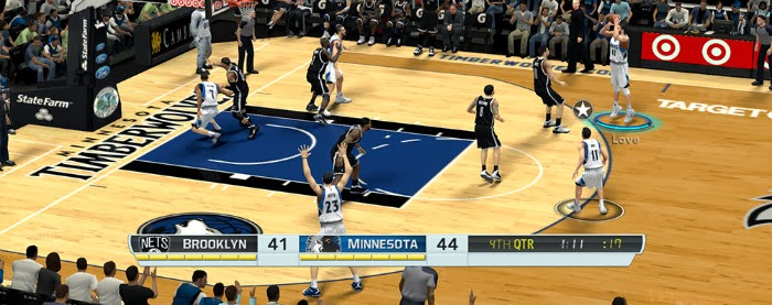 NBA 2K14 FOX Sports Scoreboard Mod