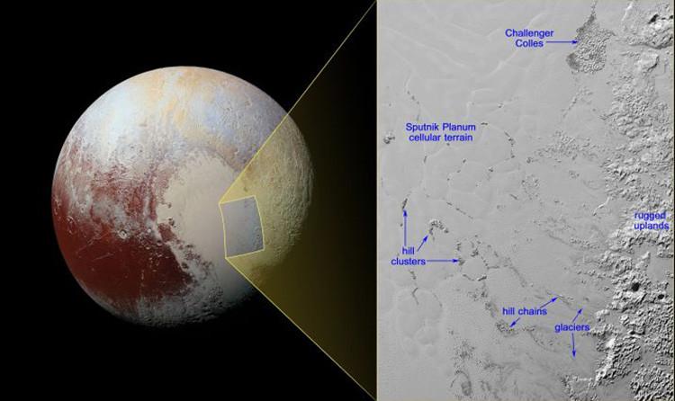 Sorprendentes datos sobre el 'corazón' de Plutón