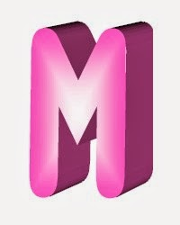 M Alphabet In 3d 3D Name Logos: 3D Alphabet M