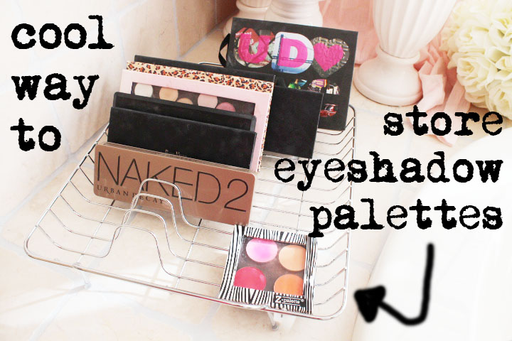 Kandeej Com How To Store Eyeshadow Amp Make Up Palettes