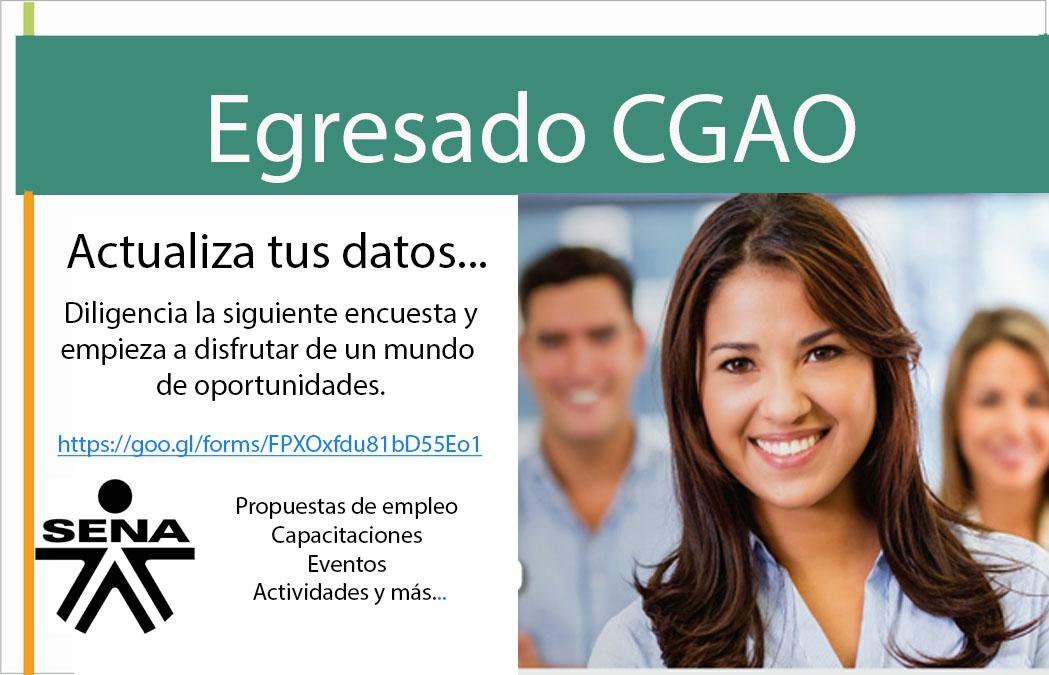 EGRESADOS CGAO SENA-VÉLEZ