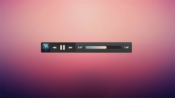 Micro Music Player UI