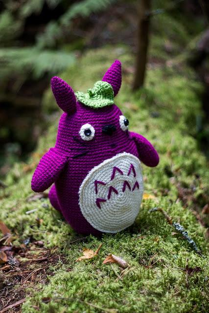 khadin lankalabyrintti: Totoro amigurumi ohje suomeksi