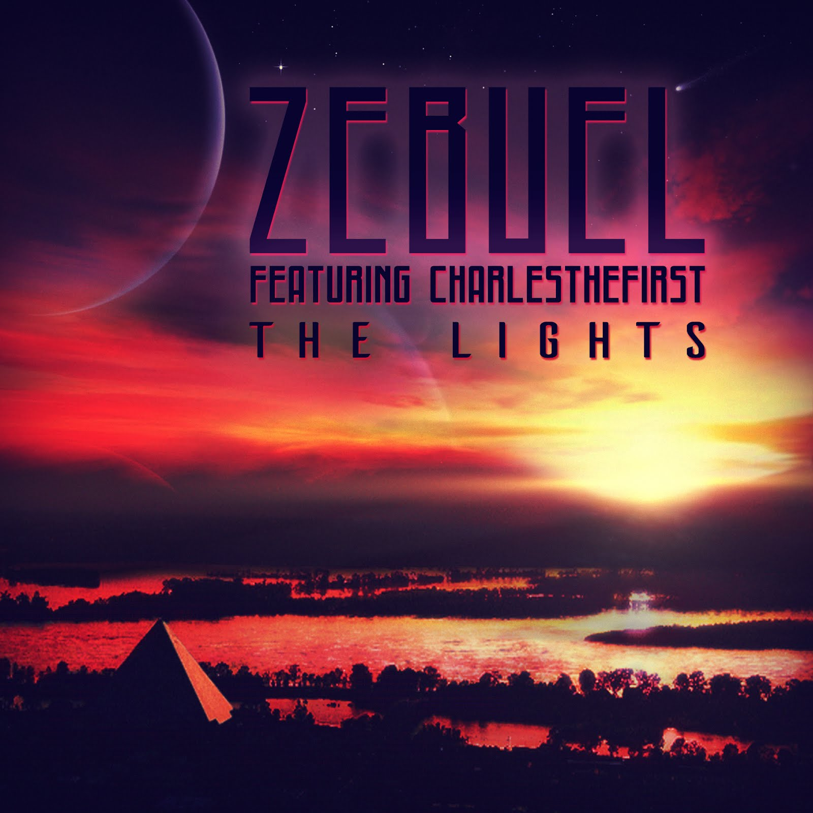 "Check out ZEBUEL's new album, ""The Lights"" !"