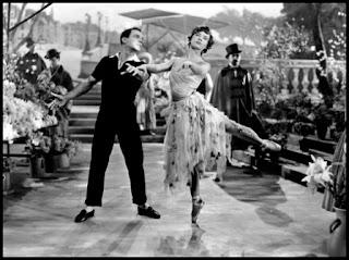 Leslie Caron y Gene Kelly en Un americano en París