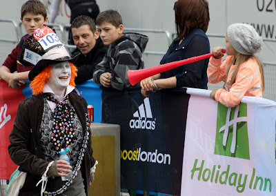 London Marathon Mad Hatter