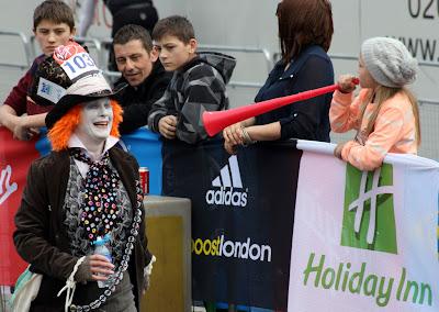 London Marathon Mad Hatter