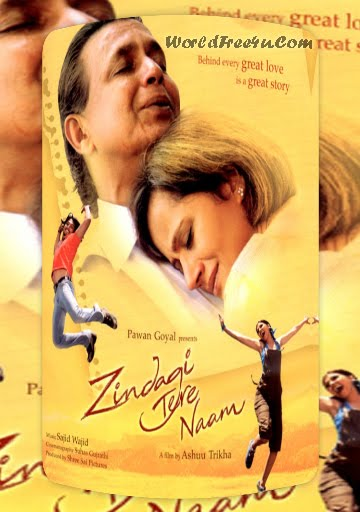Poster Of Zindagi Tere Naam (2012) In 300MB Compressed Size PC Movie Free Download At worldfree4u.com